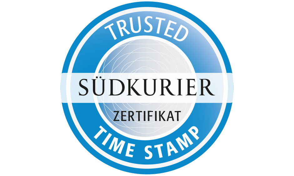 SÜDKRURIER Trusted Timestamp